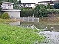 Regenüberlaufbecken, Regenrückhaltebecken in Dagersheim, Juli 2014 - panoramio (1).jpg
