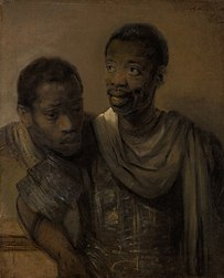 Rembrandt: Two moors