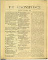 Remonstrance January 1909.png
