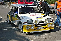 renault 5 turbo wikipedia la enciclopedia libre. Black Bedroom Furniture Sets. Home Design Ideas