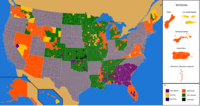 Republican Party presidential primaries results by county, 2012 (corrected).png