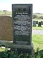 Rerrick Cemetery, Civilian War Grave - geograph.org.uk - 713816.jpg
