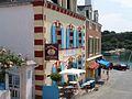 Restaurant Le Petit Baigneur, on Rampe des Glycines, Sauzon, Brittany, France 01.jpg
