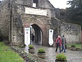 Restyled castle entrance - geograph.org.uk - 1171032.jpg