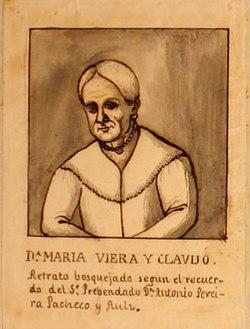 Retrato bosquejado de María Joaquina Viera y Clavijo.jpg