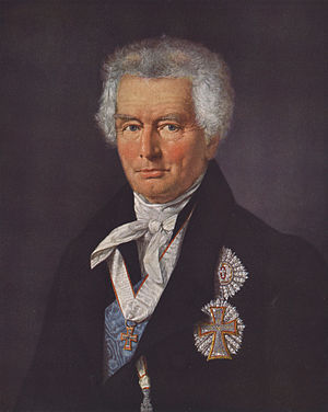 Christian Ditlev Frederik Reventlow - C. D. F. Reventlow during his retirement in 1813