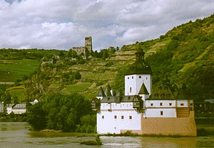 "Pfalzgrafenstein Castle - ""A ship of stone..."""
