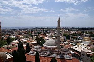 Suleymaniye Mosque (Rhodes) - Image: Rhodos Stadtzentrum 1