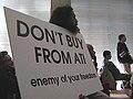 Richard Stallman protesting ATI Technologies 20120227.jpg