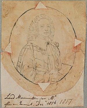 Richard Wesley, 1st Baron Mornington - Image: Richard Wesley, 1st Baron Mornington by Henry Pierce Bone (cropped)