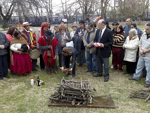Ritual de la Pachamama