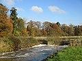River Adur weir in autumn.jpg