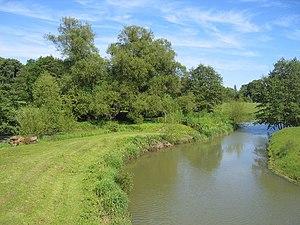 River Stour, Warwickshire - The Stour near Ettington Park