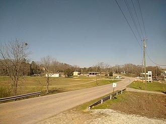 Riverside, Alabama - Image: Road in Riverside, Alabama