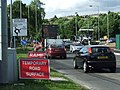 Roadworks on the A505 - geograph.org.uk - 860253.jpg