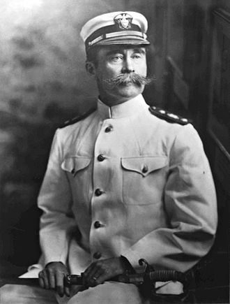 Robert Peary - Peary in naval uniform circa 1911