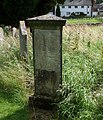 Robert Wauchope's gravestone, Dacre, Cumbria. Inventor of the time ball.jpg