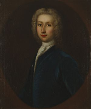 Robert Whytt - Painting of Robert Whytt by G.B. Bellucci ca. 1738