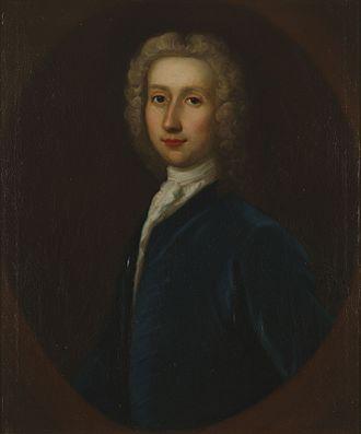 Robert Whytt - Painting of Robert Whytt by G.B. Bellucci ca. 1738