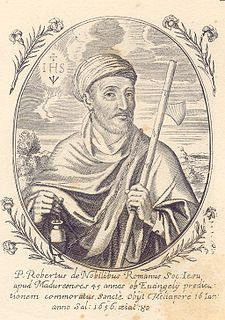 Roberto de Nobili missionary