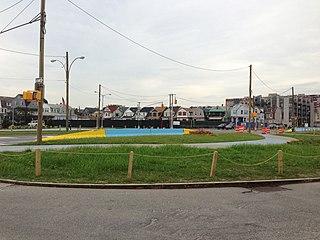 Shore Front Parkway Avenue in Queens, New York