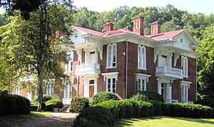 Roderick R. Butler - Roderick Butler's mansion in Mountain City, Tennessee