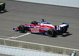 Roger Yasukawa - Practicing for the 2007 Indianapolis 500.