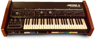 Roland Jupiter-4 polyphonic analog synthesizer