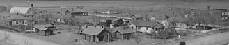 Rolla, Kansas - Panorama of Rolla (1935)