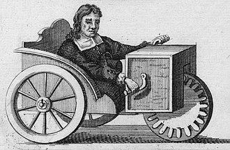 Invalid carriage - Farffler's carriage of 1655