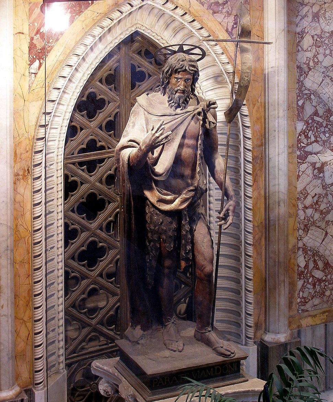 Rom, Basilika San Giovanni in Laterano, Hl. Johannes der Täufer 2
