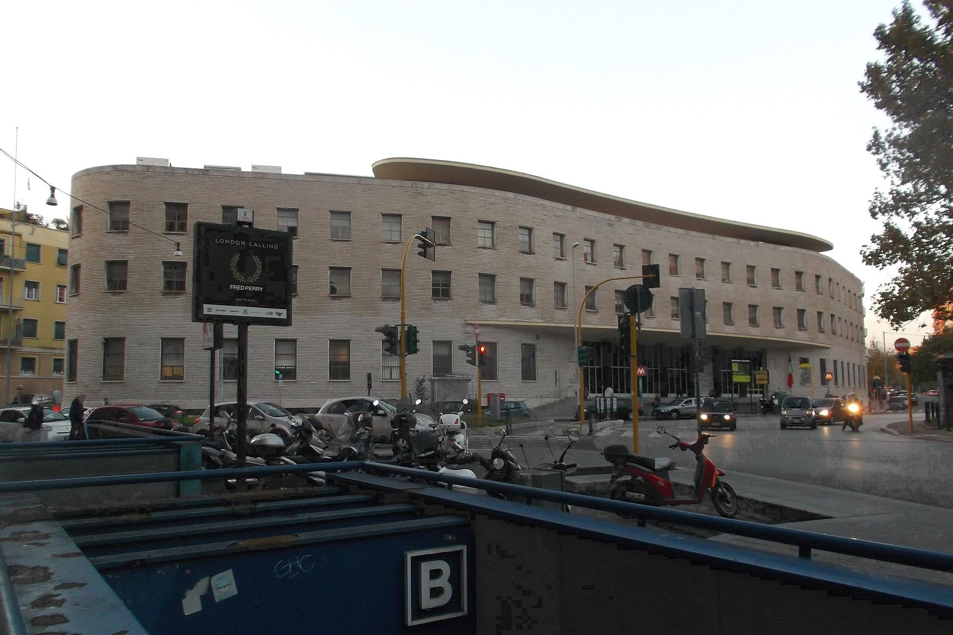 edificio postale di roma piazza bologna wikipedia