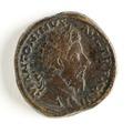 Romerskt bronsrmynt, Marcus Aurelius, 171-172 - Skoklosters slott - 110679.tif