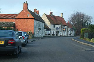 Ropsley village in Lincolnshire