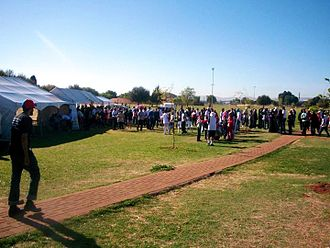 Lenasia - Rose Park in September 2012.