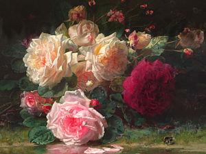 James Prendergast Library - Image: Roses Jean Baptiste Robie