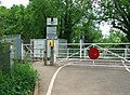 Roundham level crossing - geograph.org.uk - 813347.jpg