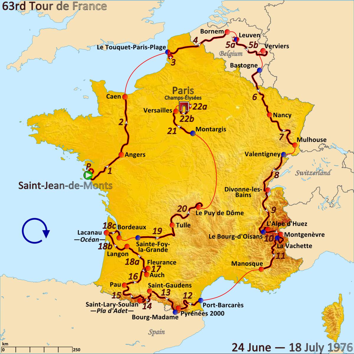 1976 Tour De France Wikipedia