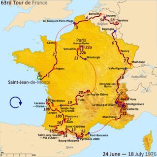 1976 Tour de France cycling race