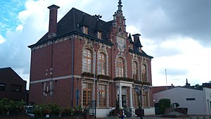 Rouvroy, Pas-de-Calais - The town hall of Rouvroy