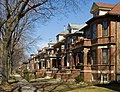Row of houses in the Lakewood Balmoral Historic District - panoramio.jpg