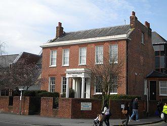 Royal Meteorological Society - Royal Meteorological Society, Oxford Road Reading