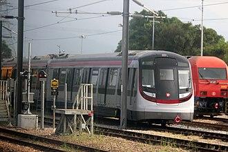 Sha Tin to Central Link - Hyundai Rotem EMU