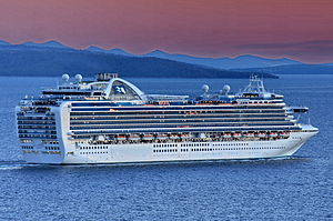 Ruby Princess (ship, 2008) IMO 9378462; in Split, 2011-10-17 (2).jpg