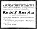Rudolf Auspitz Todesanzeige.png