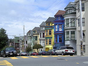 San Francisco, California : Haight Ashbury