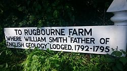 Photo of William Smith white plaque