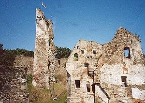 Ruine Schaunberg - Bergfried und Palas