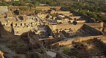 Ruins of golkonda fort a view from top.jpg