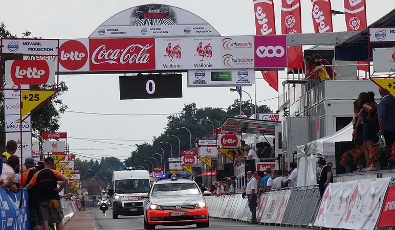 Rumillies (Tournai) - Tour de Wallonie, étape 1, 26 juillet 2014, arrivée (A16).JPG
